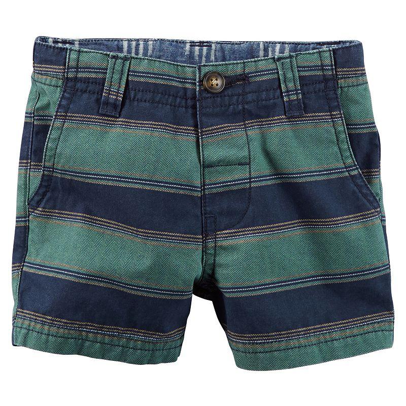 Baby Boy Carter's Herringbone Striped Shorts