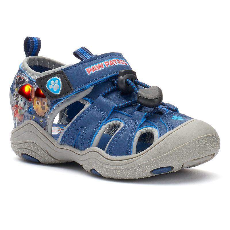 Paw Patrol Chase & Marshal Toddler Boys' Light-Up Sandals