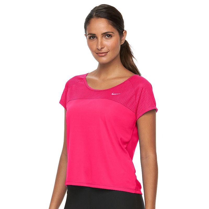 Women's Nike Run Fast Dri-FIT Crop Running Tee