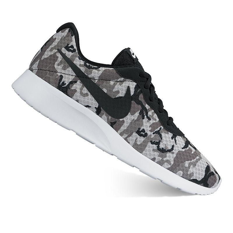 Nike Tanjun Men's Camouflage Athletic Shoes