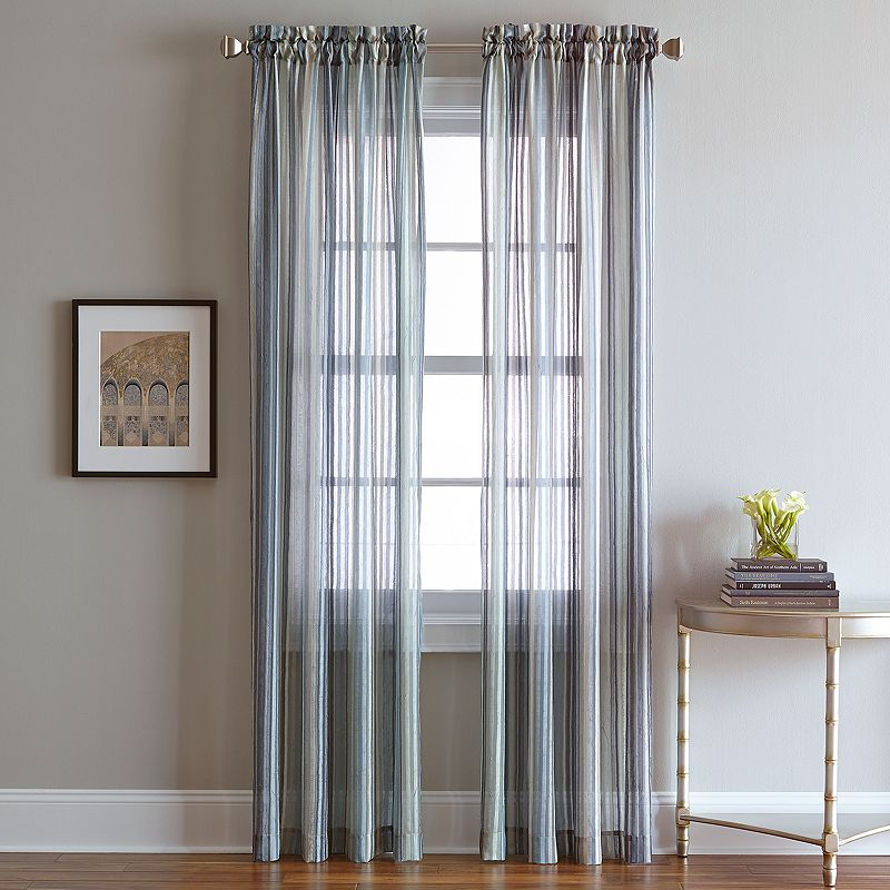 CHF Percy Semi-Sheer Curtain