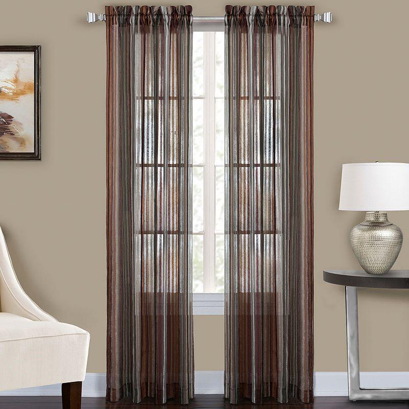 CHF Percy Semi-Sheer Curtain