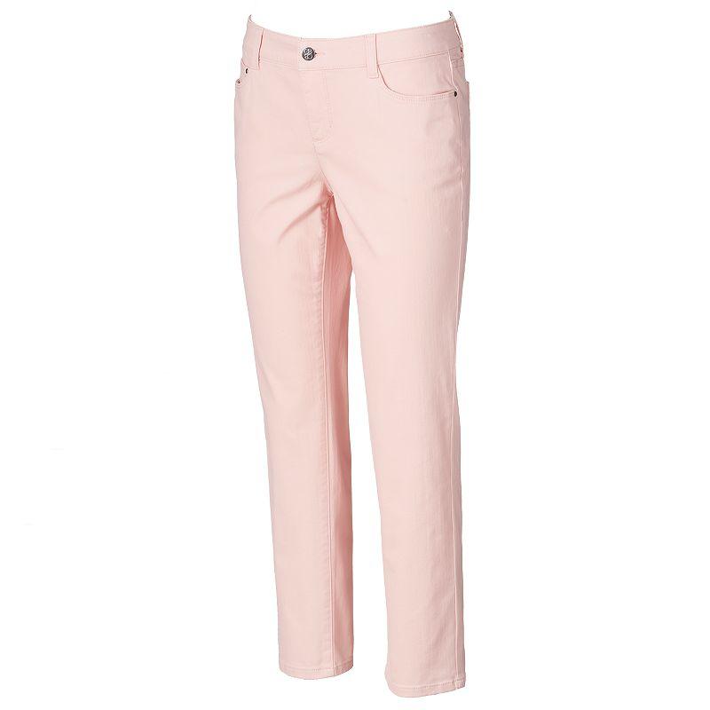 Petite Croft & Barrow® Classic Fit Straight Leg Jeans