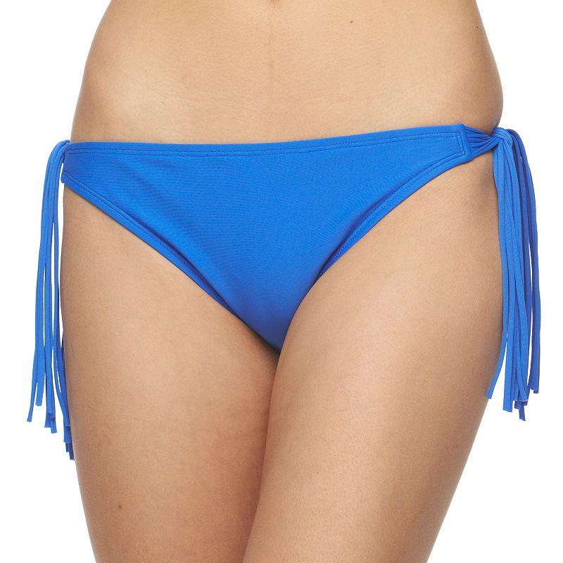Juniors' Malibu Fringe Bikini Bottoms