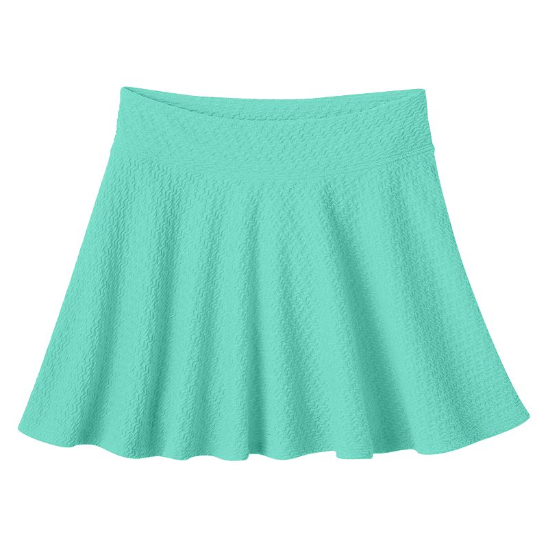 Girls 7-16 u0026 Plus Size SOu00ae Textured Skater Skirt | DealTrend