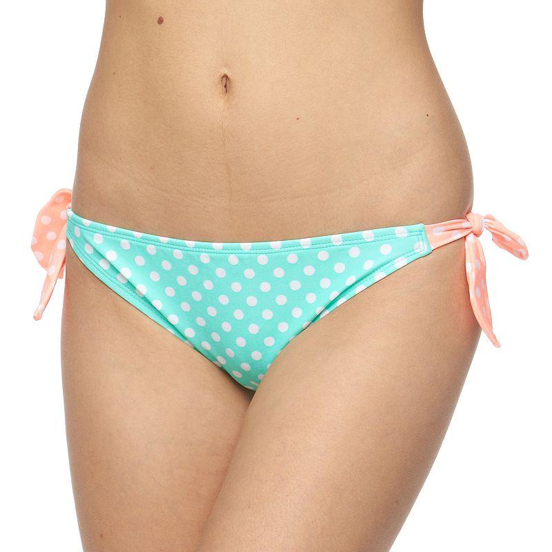 Juniors' Malibu Polka-Dot Bikini Bottoms