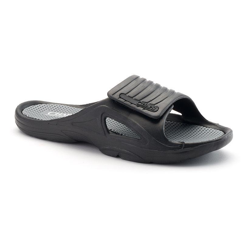 Men's Chaps Quick-Dry Slide Sandals