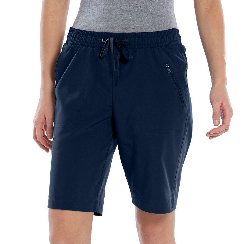 Women's Tek Gear® On the Go Core Woven Bermuda Shorts