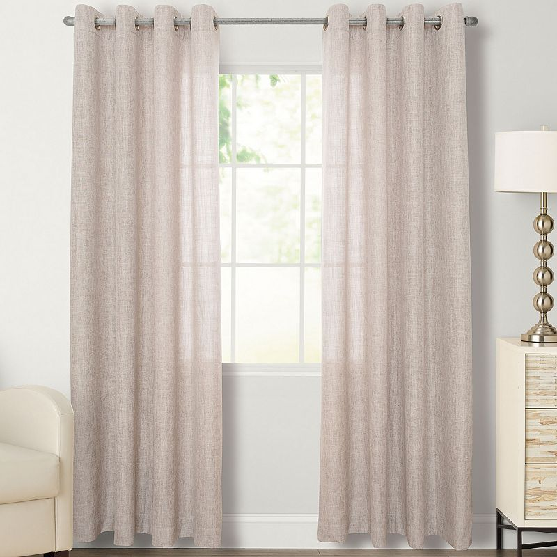 SONOMA Goods for Life™ Naturals Linnell Curtain