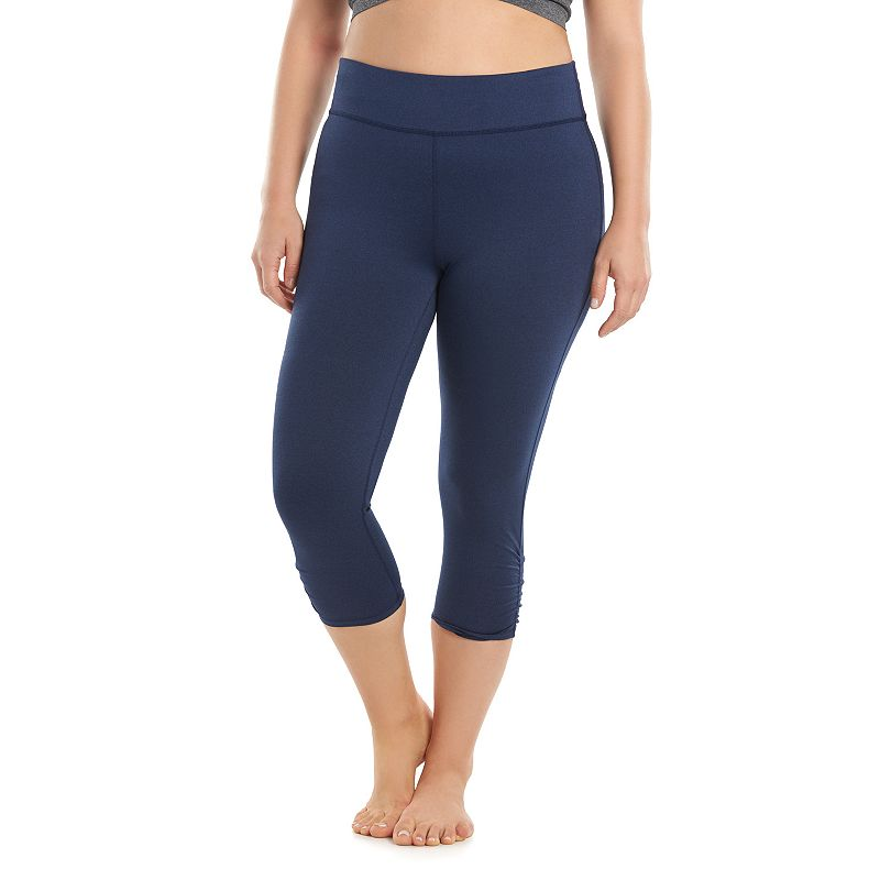 Plus Size Gaiam Yoga Capri Pants