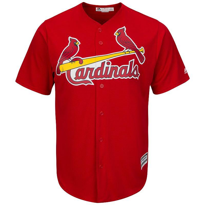 Men's Majestic St. Louis Cardinals Replica MLB Jersey