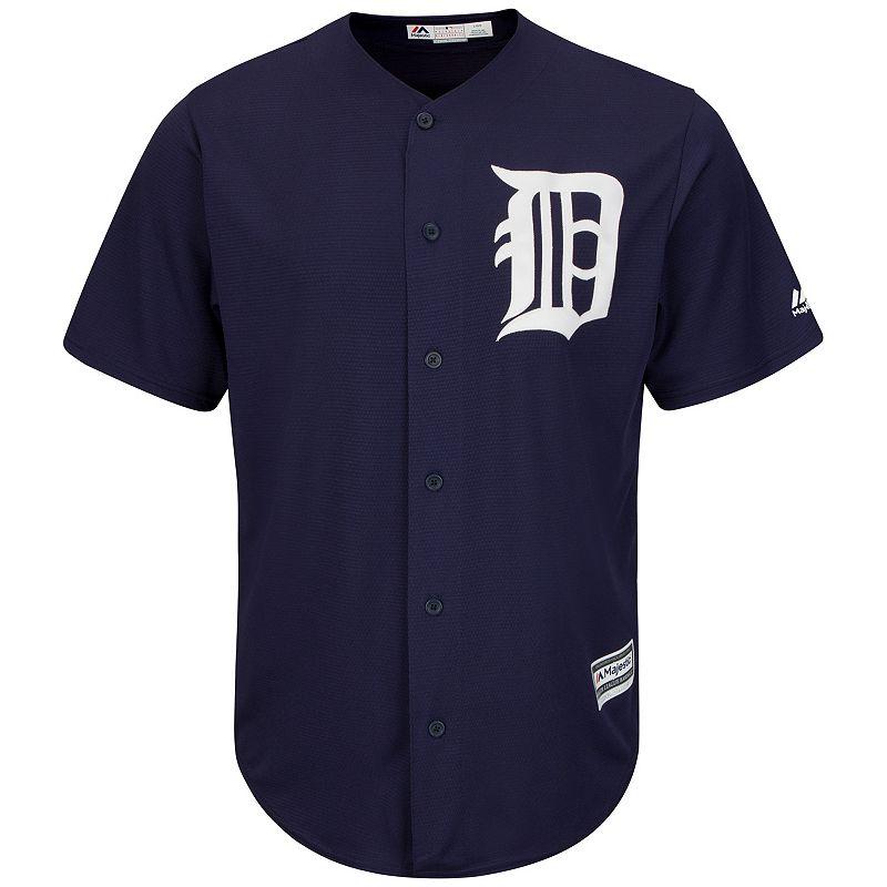 Men's Majestic Detroit Tigers Replica MLB Jersey