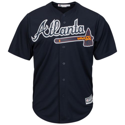 Men's Majestic Atlanta Braves Cool Base Replica Jersey