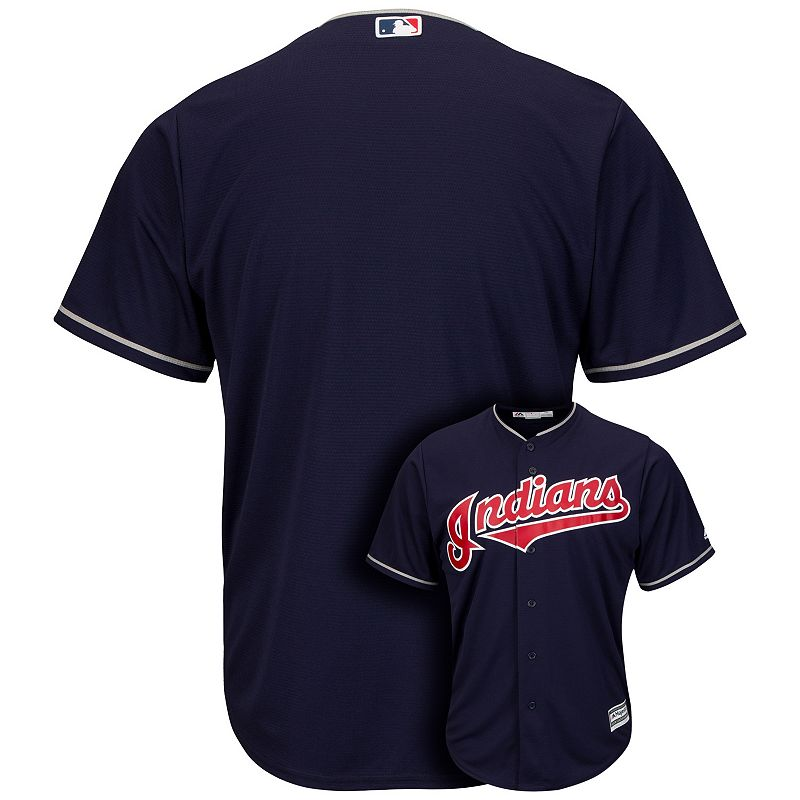 Men's Majestic Cleveland Indians Cool Base Replica Jersey