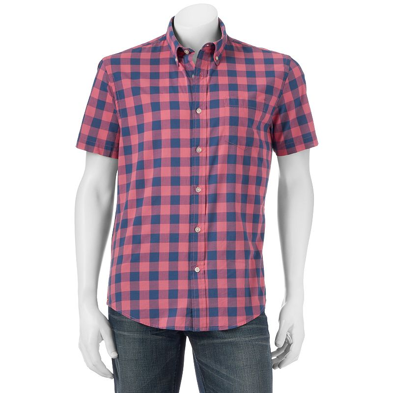 Men's SONOMA Goods for Life™ Poplin Button-Down Shirt