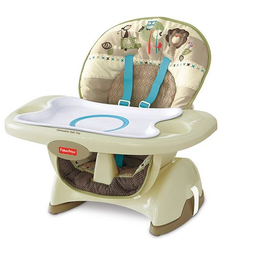 Fisher Price Zoo Animal Deluxe SpaceSaver High Chair