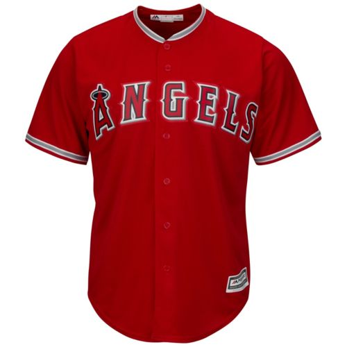 Men's Majestic Los Angeles Angels of Anaheim Cool Base Replica Jersey