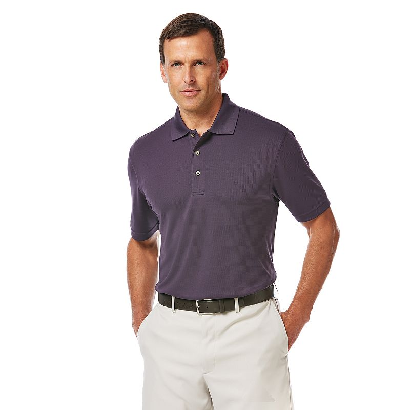 Men's Grand Slam Airflow Slim-Fit Performance Golf Polo