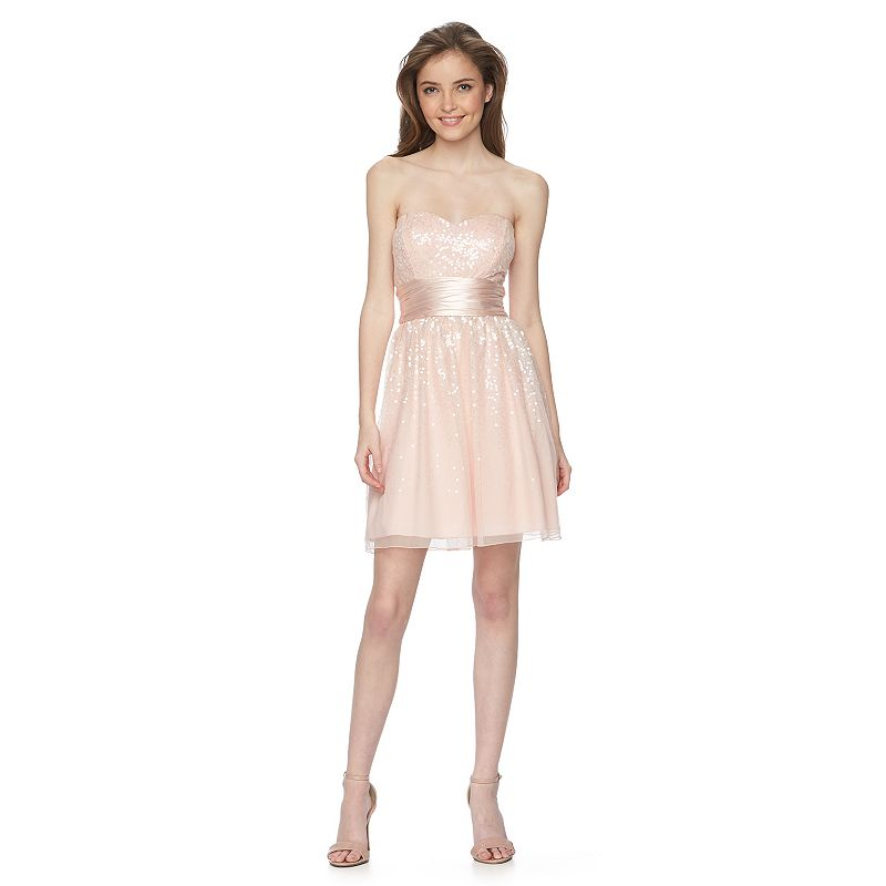 Juniors' Speechless Ombre Party Dress