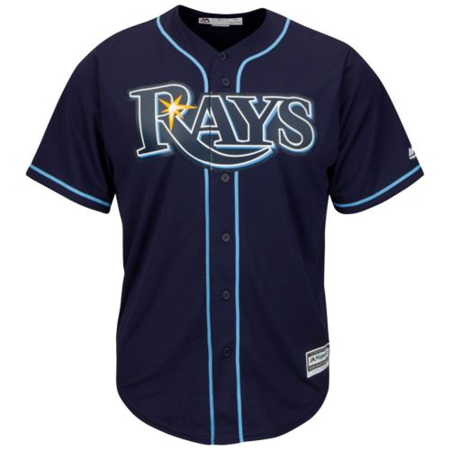 Men's Majestic Tampa Bay Rays Replica MLB Jersey