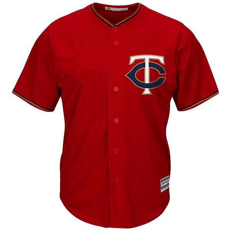 Men's Majestic Minnesota Twins Replica MLB Jersey