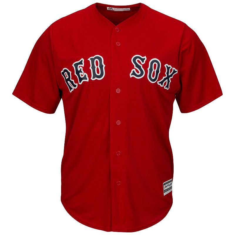 Men's Majestic Boston Red Sox Replica MLB Jersey