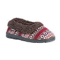 MUK LUKS Women's Striped Slide Slippers