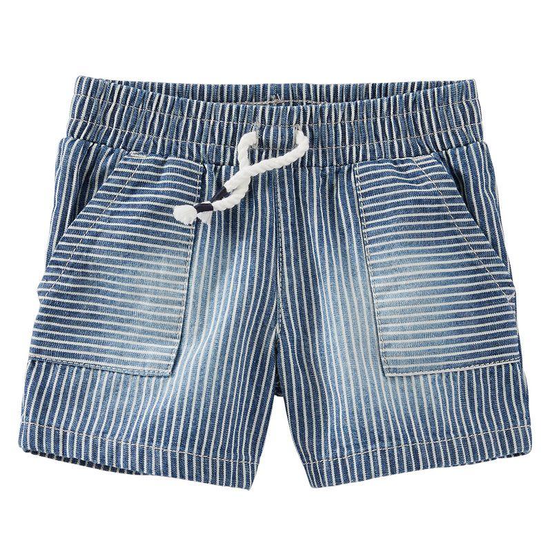 Baby Boy OshKosh B'gosh® Hickory Striped Shorts