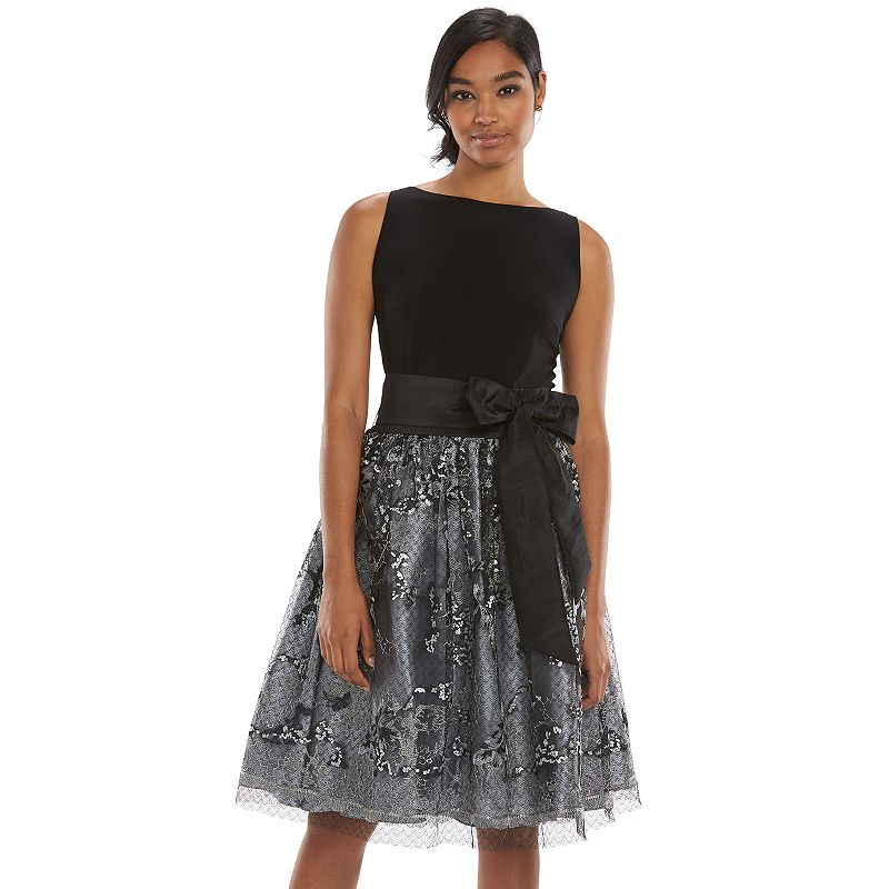 Women's Expo Lace Fit & Flare Dress