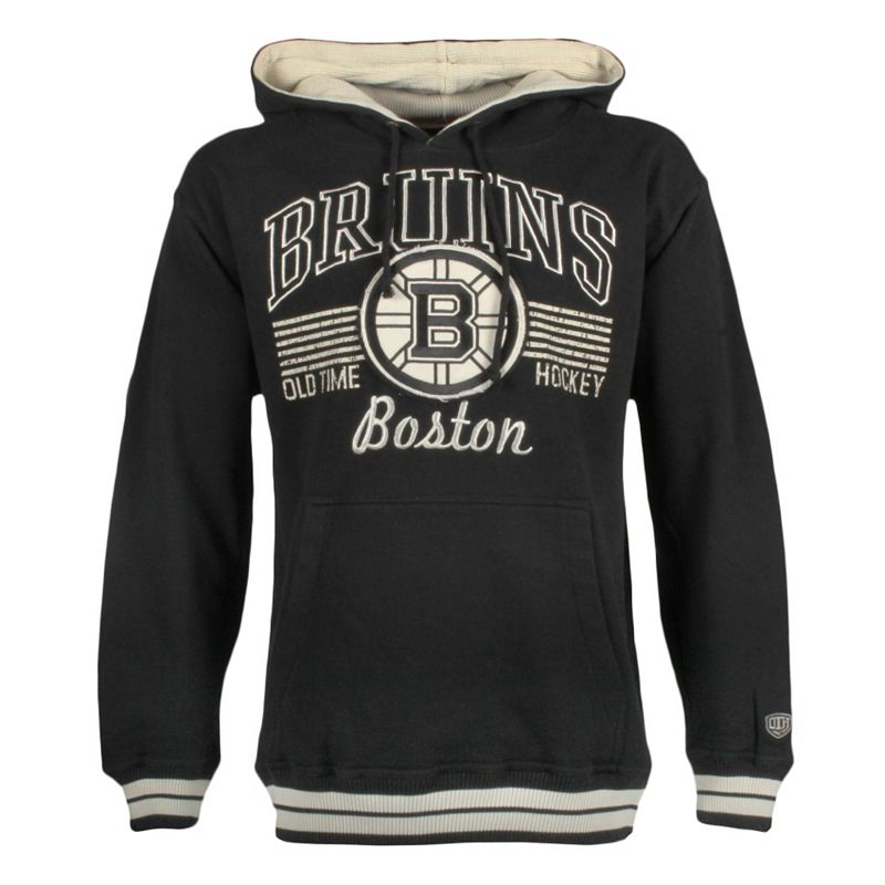 Men's Old Time Hockey Boston Bruins Deshler Hoodie