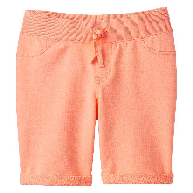 Girls 7-16 & Plus Size SO® Cuffed Knit Bermuda Shorts
