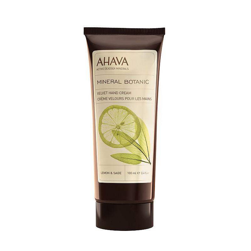 AHAVA Mineral Botanic Lemon & Sage Velvet Hand Cream