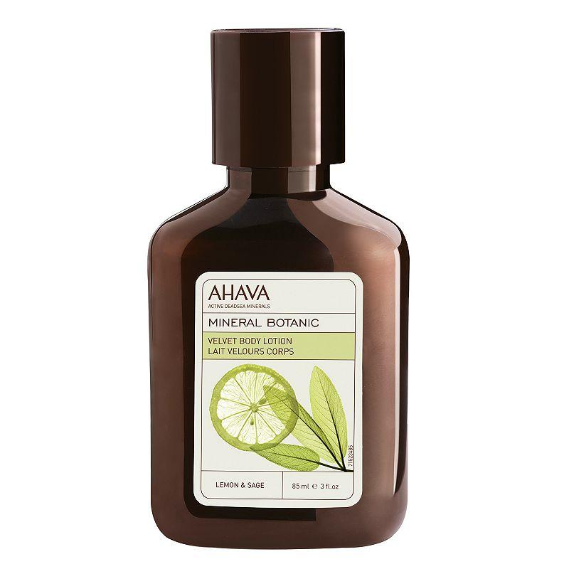 AHAVA Mineral Botanic Lemon & Sage Velvet Body Lotion - Travel Size