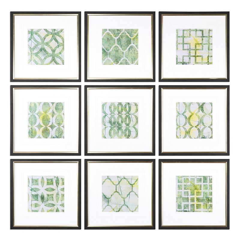 Metric Links Wall Art 9-piece Set