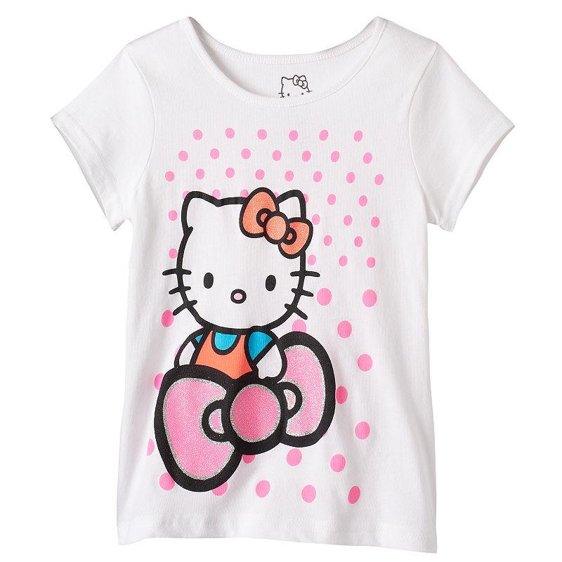 Toddler Girl Hello Kitty® Polka-Dot Tee
