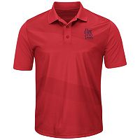 Men's Majestic St. Louis Cardinals Late Night Prize Polo