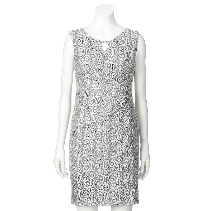 Women's Scarlett Lace Shift Dress