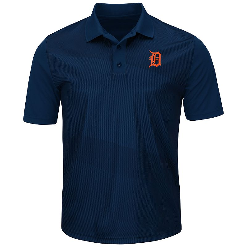 Men's Majestic Detroit Tigers Late Night Prize Polo