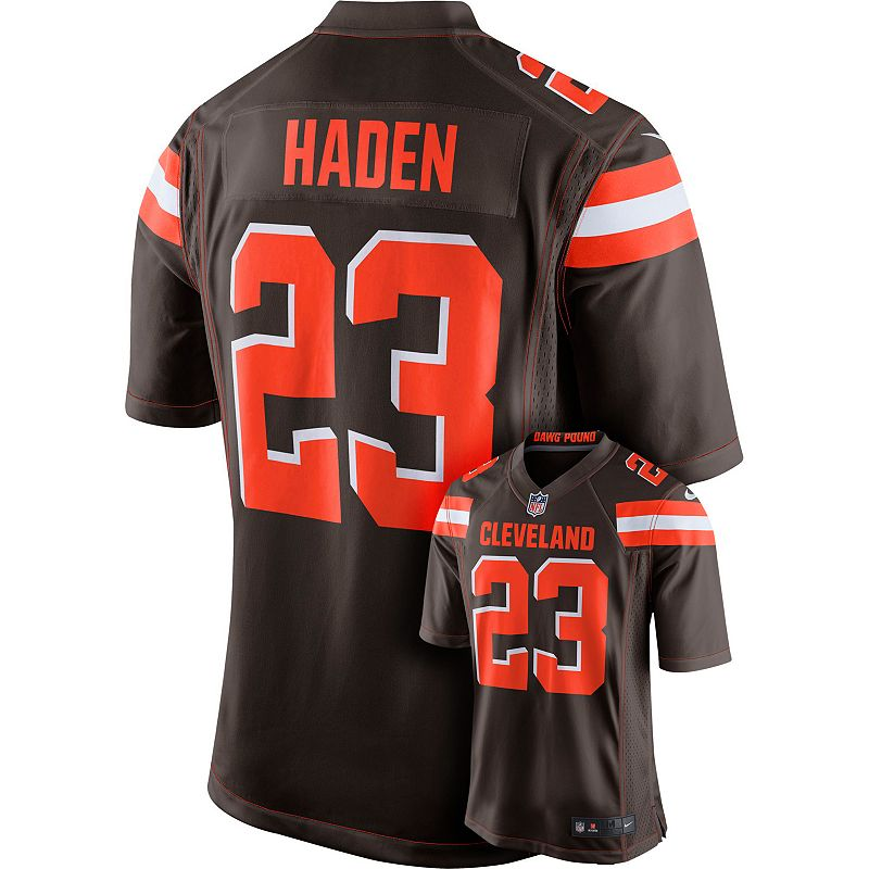 Men's Nike Cleveland Browns Joe Haden NFL Replica Jersey