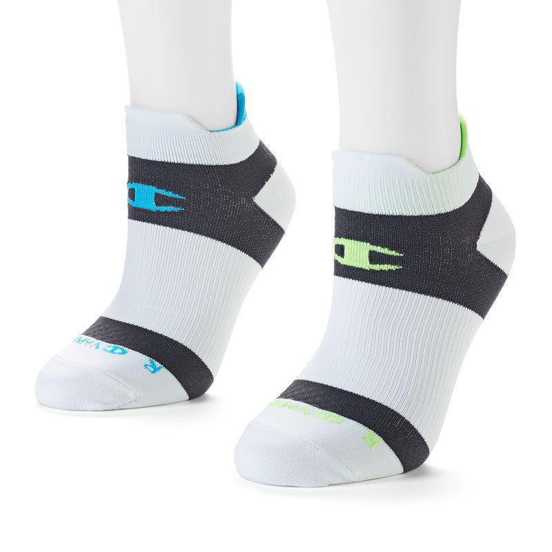 Women's Champion 2-pk. Performance Double-Heel Low-Cut Socks