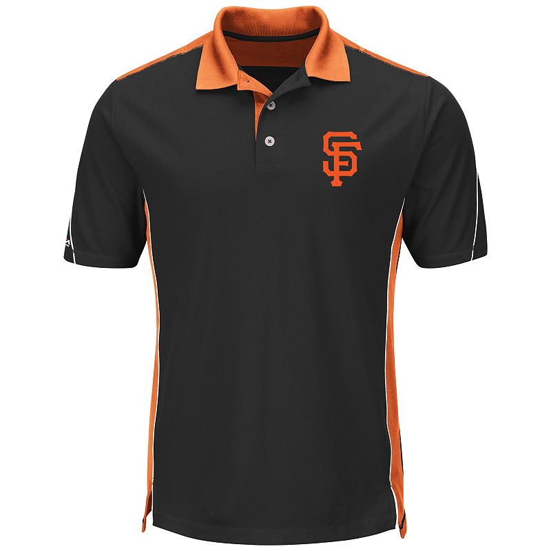 Men's Majestic San Francisco Giants To The 10th Power Performance Polo