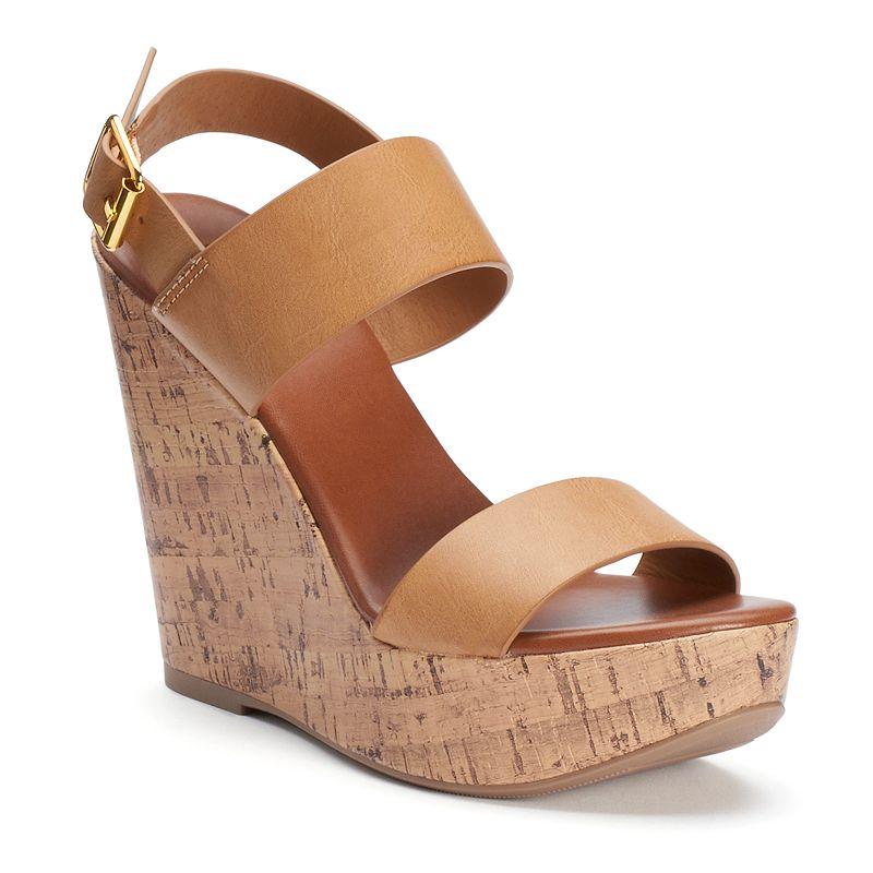 Candie's® Women's Wedge Sandals