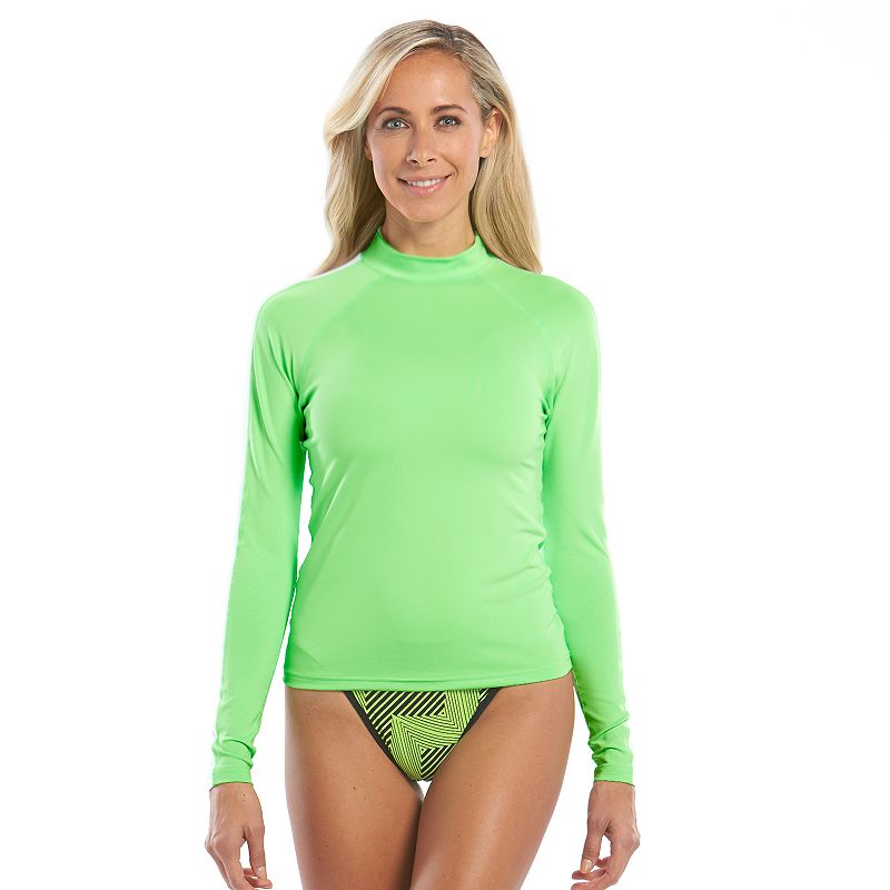 Women's Dolfin Uglies Colorblock Rash Guard