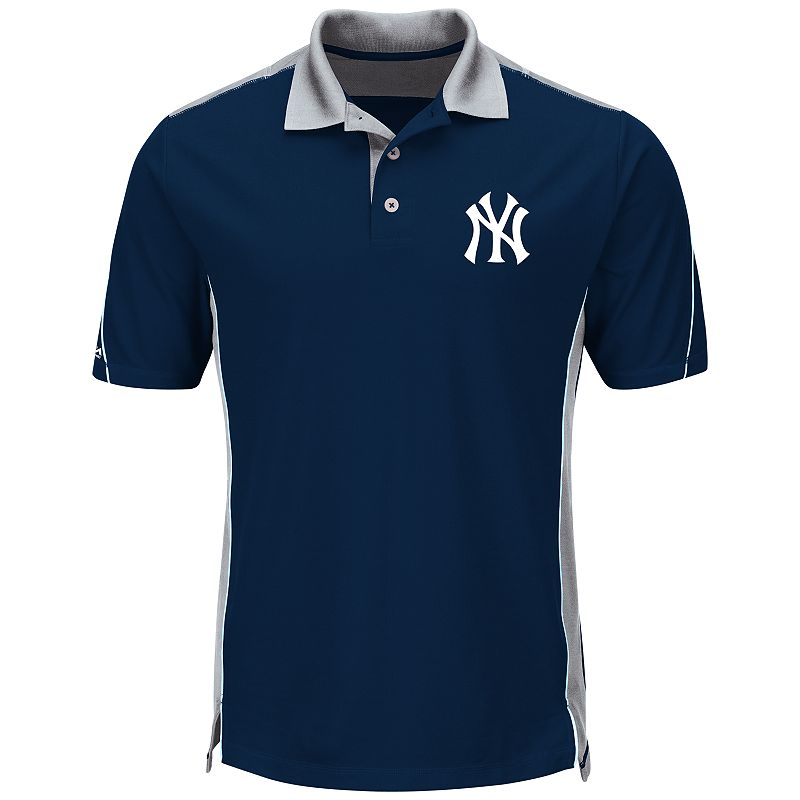 Men's Majestic New York Yankees To The 10th Power Performance Polo
