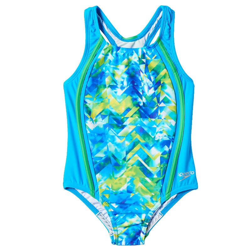 Girls 4-6x Speedo Colorful One-Piece Swimsuit