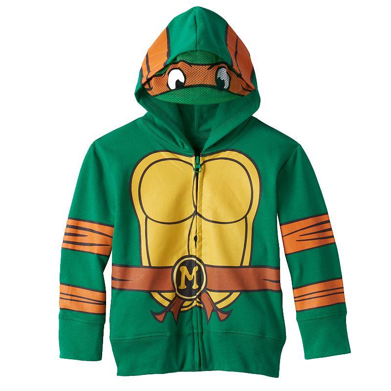 Toddler Boy Teenage Mutant Ninja Turtles Michelangelo Hoodie