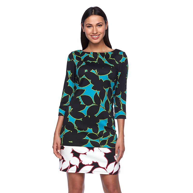 Women's Suite 7 Leaf Shift Dress