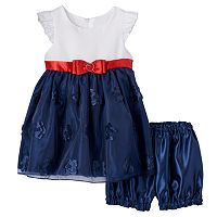 Baby Girl Princess Faith Bow Dress