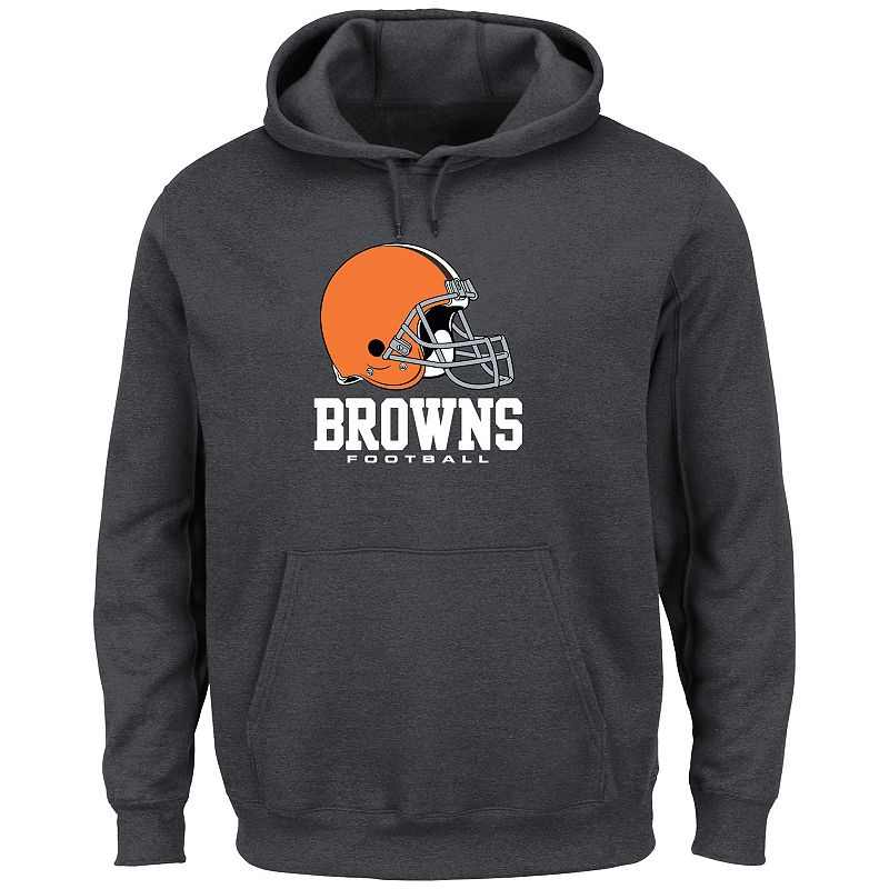 Men's Majestic Cleveland Browns Critical Victory Fleece Hoodie