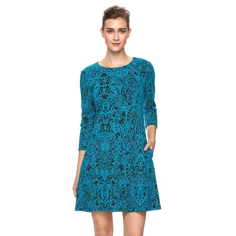 Women's MSK Paisley Shift Dress